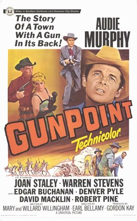 Framed Gun Point Print