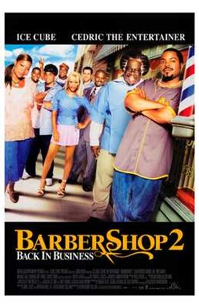 Framed Barbershop 2: Back in Business Print