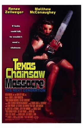 Framed Texas Chainsaw Massacre: the Next Genera Print