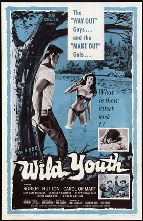 Framed Wild Youth, c.1960 - style A Print