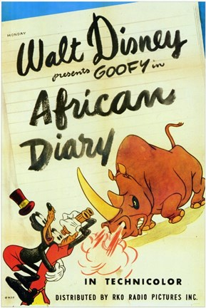 Framed African Diary Print