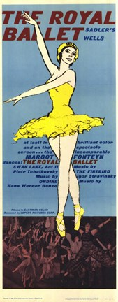 Framed Royal Ballet Print