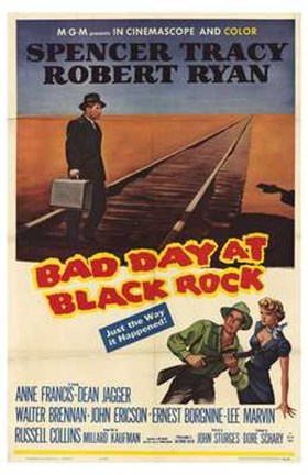 Framed Bad Day At Black Rock Print