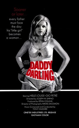 Framed Daddy  Darling Print