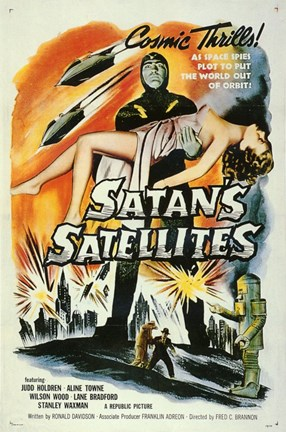 Framed Satan's Satellites Print