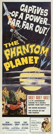 Framed Phantom Planet Print