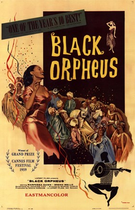 Framed Black Orpheus Print