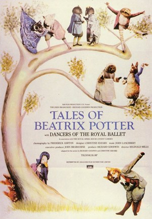 Framed Peter Rabbit and Tales of Beatrix Potter Print