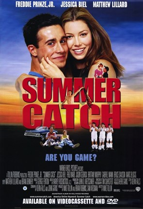 Framed Summer Catch Print