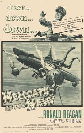 Framed Hellcats of the Navy Print