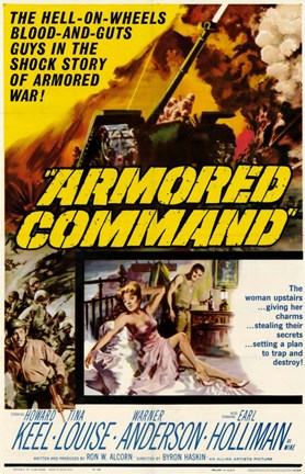 Framed Armored Command Print