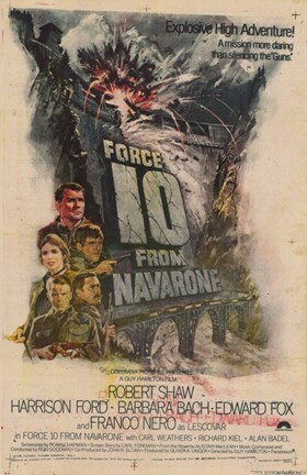 Framed Force 10 from Navarone Print