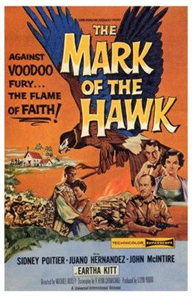 Framed Mark of the Hawk Print