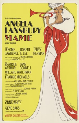 Framed Mame (Broadway Musical) Print