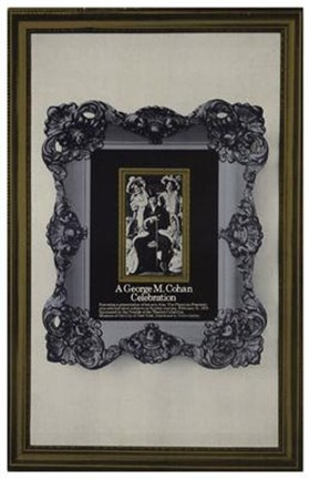 Framed George M Cohan Celebration  a (Broadway Print
