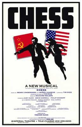 Framed Chess (Broadway Musical) Print