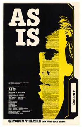 Framed as is (Broadway Play) Print