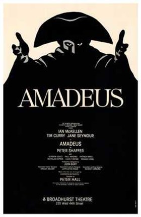 Framed Amadeus (Broadway Play) Print