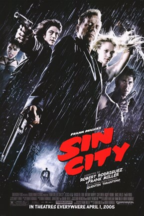 Framed Sin City Print