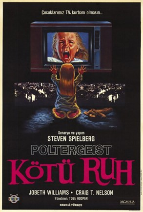 Framed Poltergeist - Turkish Print