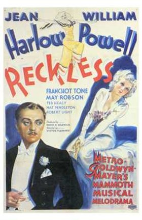 Framed Reckless - Harlow Powell Print