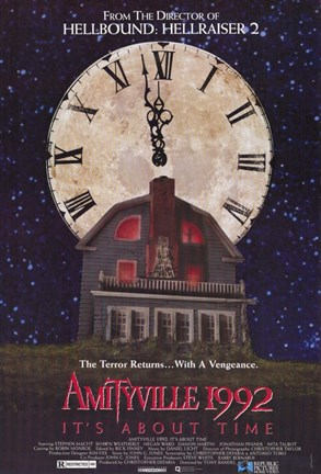Framed Amityville 1992: It's About Time Print