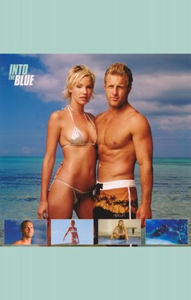 Framed Into the Blue Scott Caan and Ashley Scott Print