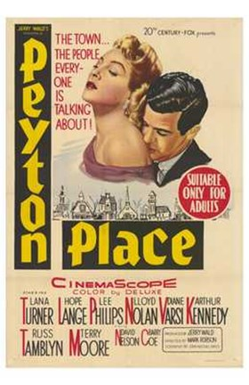 Framed Peyton Place Print