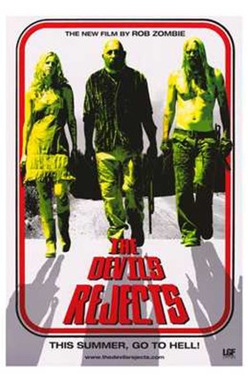 Framed Devil's Rejects Pop Print