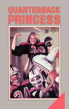 Framed Quarterback Princess Print