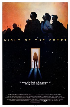 Framed Night of the Comet Print