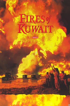 Framed Fires of Kuwait (Imax) Print