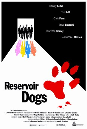 Framed Reservoir Dogs Print
