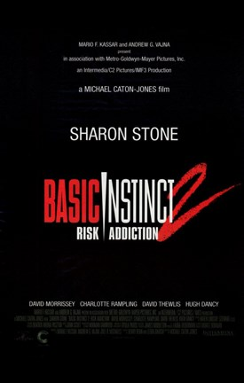 Framed Basic Instinct 2: Risk Addiction Print