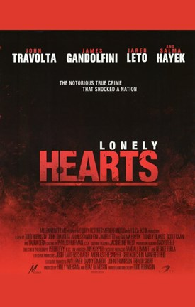Framed Lonely Hearts Movie Print