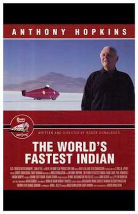 Framed World's Fastest Indian Print
