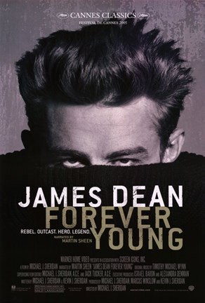 Framed James Dean: Forever Young Print