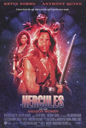 Framed Hercules and the Amazon Women (Tv) Print