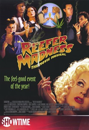 Framed Reefer Madness: the Movie Musical Print