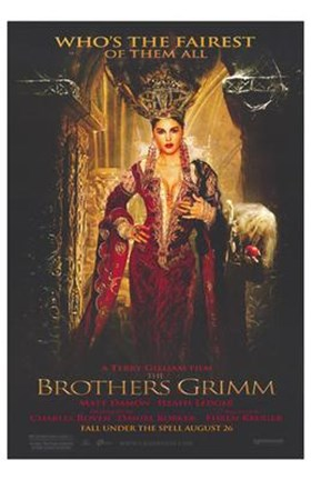 Framed Brothers Grimm - Who's the fairest Print