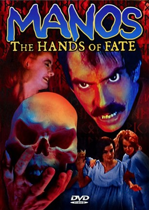 Framed 'Manos' the Hands of Fate Print