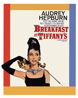 Breakfast at Tiffany's - One - Sheet  Wall Poster