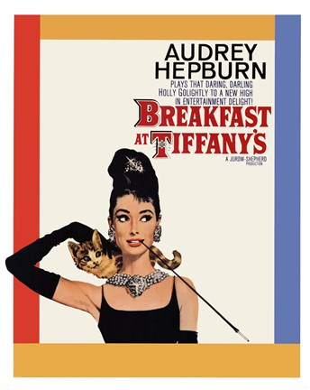 Framed Breakfast at Tiffany's - One - Sheet Print