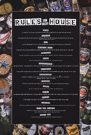 Rules of the House  Wall Poster