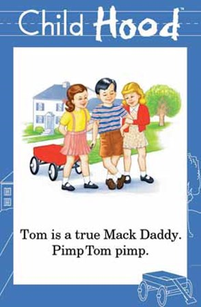 Tom is a True Mack Daddy art print