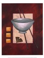 Oriental Dining II  Fine Art Print