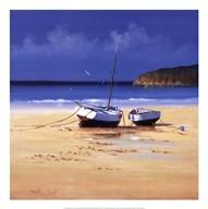 Moorings Low Tide  Fine Art Print
