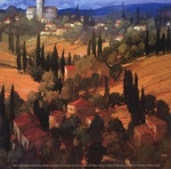 Tuscan Castle Art