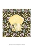 Japanese Comb on Chocolate II  Fine Art Print