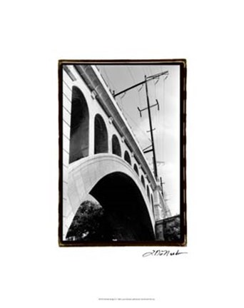 Framed Bridge II Print
